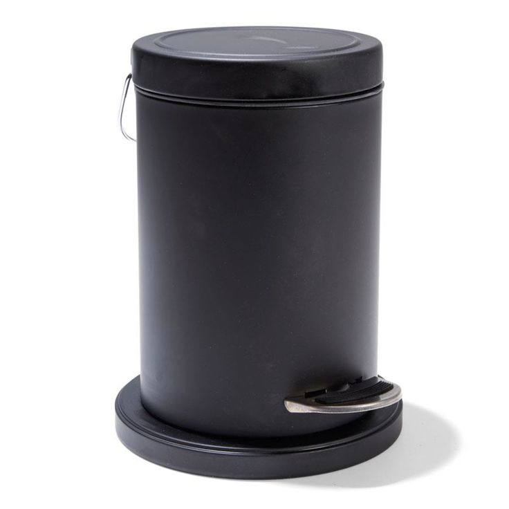 black Rubbish Bin 3 Litrehomemaker Black