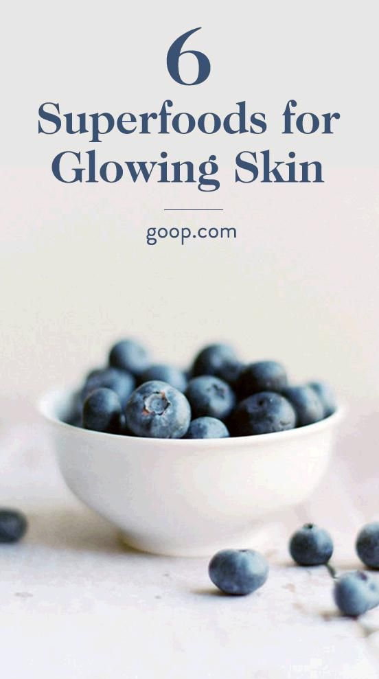 Superfoods for Glowing Skin