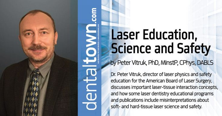 Dr Peter Vitruk Director Of Laser Physics And Safety Education