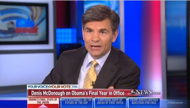No Surprise: ABC's Stephanopoulos Lobs Softballs at WH Chief of Staff, Fox's Wallace Presses