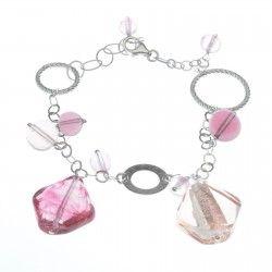Antica Murrina Desiree #Bracelet - Rose #jewellery #murano