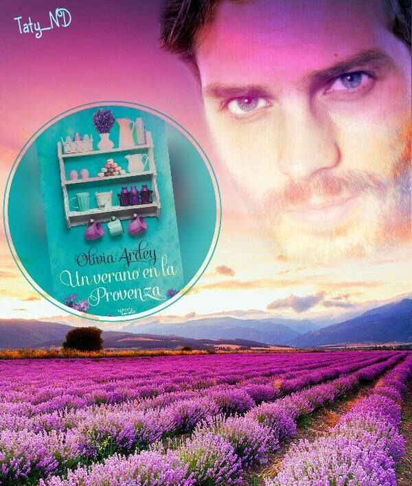 UN VERANO EN LA PROVENZA. Romance Novel Spanish edition. Fan art by Taty.