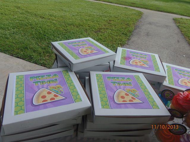 Teenage Mutant Ninja Turtles Birthday Party Ideas | Photo 14 of 24 | Catch My Party