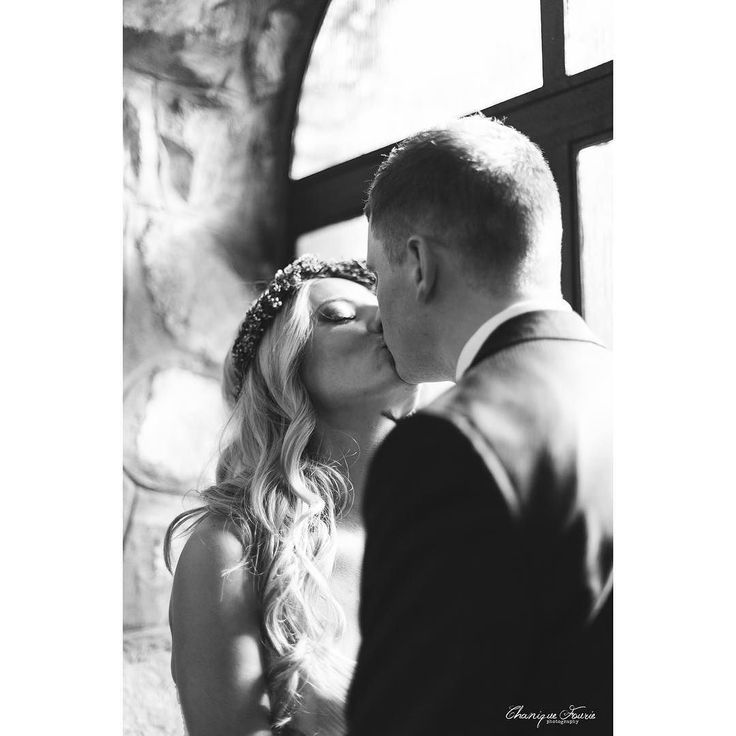 Mr & Mrs Basterfield  #chaniquefouriephotography #cfp_weddings #wedding #kisses #brideandgroom