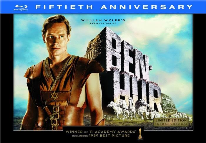 Ben Hur Charleston Heston 11 Oscars 1959 Ben Hur Movie Ben Hur Blu Ray Movies