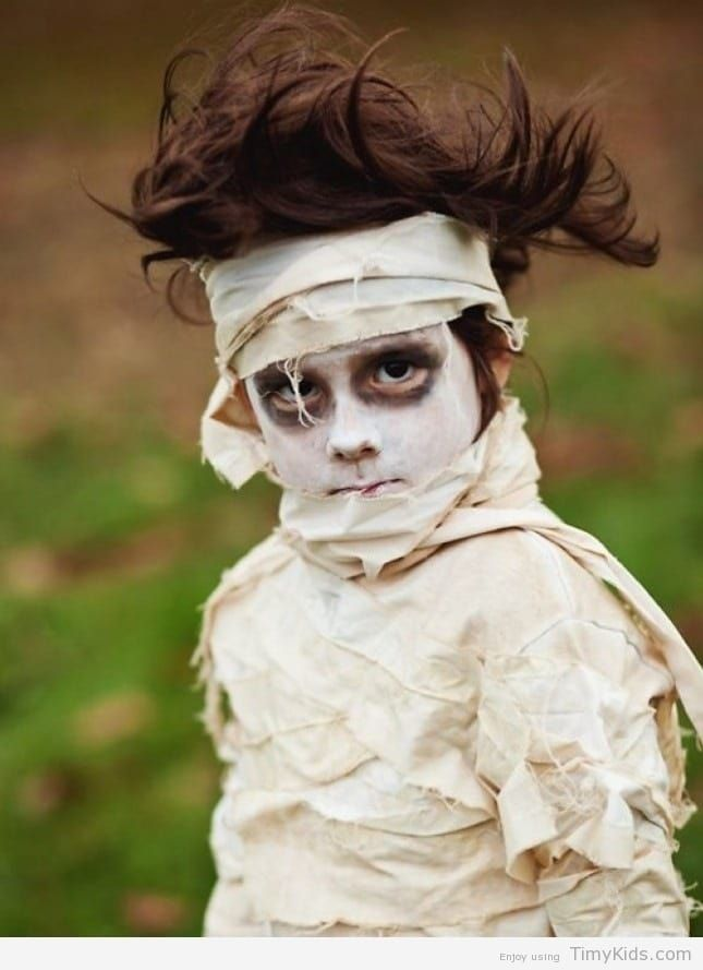 scary halloween costumes for kids homemade