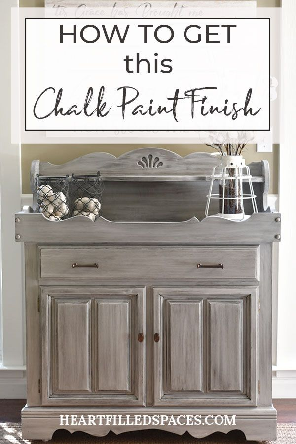 Refinished Dry Sink With Chalk Paint Chalk Paint Furniture Diy