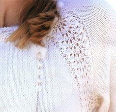 Платье спицами Snow