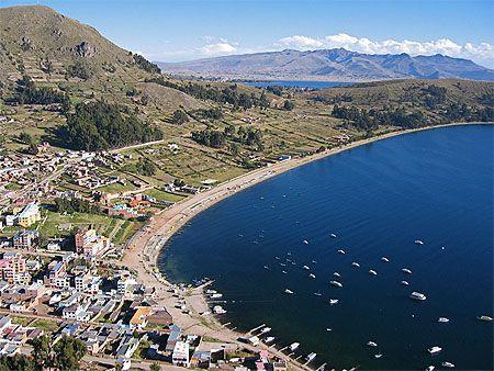 Bolivie, Copacabana, Lac Titicaca