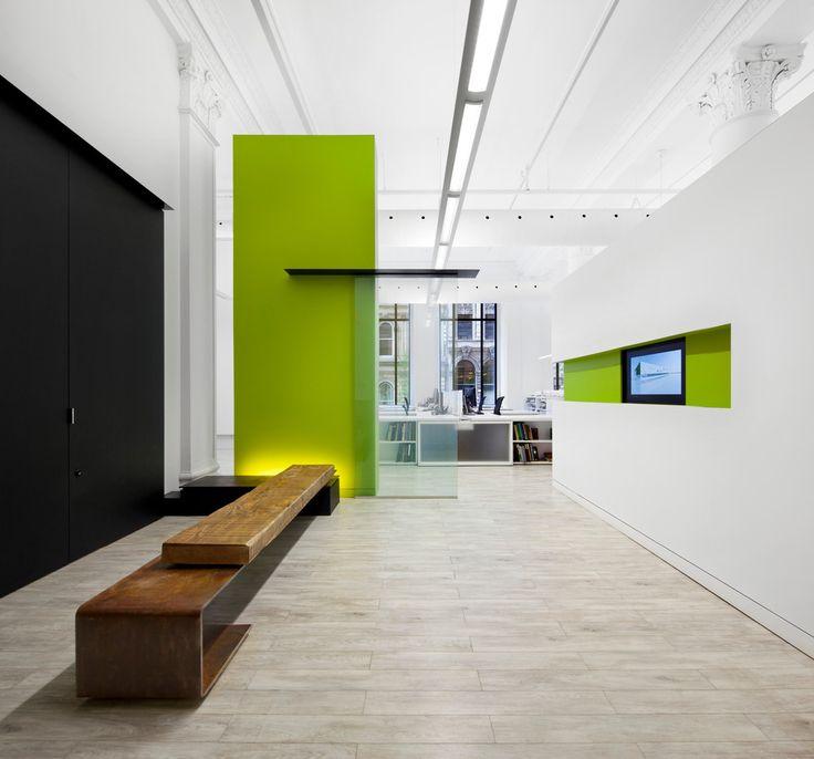 v2com newswire   Commercial Interior Design   Bureau 100 - NFOE et associés architectes  @Stéphane Brügger