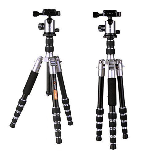 Mini Stativ K&F Concept® Ministativ mit Kugelkopf,Leicht Stativ,Kamera Stativ,Reise Stativ,Ministativ Kamera,Ministativ mit kugelkopf,Stativ Kugelkopf,Reisestativ mit 3D-Kugelkopf,Schnellwechselplatte und Stativtasche für Canon Nikon Petax Sony - http://kameras-kaufen.de/k-f-concept/128cm-aluminium-stativ-kamera-k-f-concept-tripod