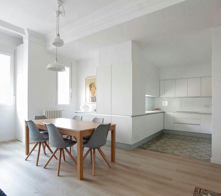 Fourniture cuisines cuisine minimale cuisines ouvertes cuisines de rêve valence intérieur petits appartements ph