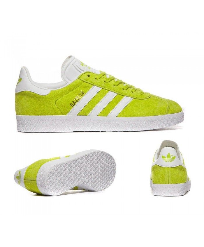huge selection of 4ea15 2bb74 Adidas Originals Gazelle Unity Lime Trainers Sale UK