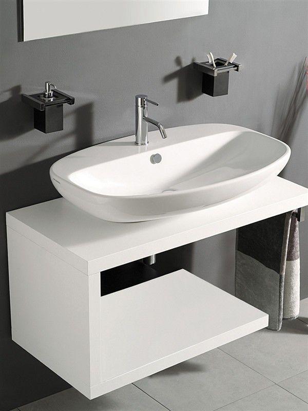 27 best Idées Salles de bains images on Pinterest Bathroom - Meuble De Salle De Bain Sans Vasque