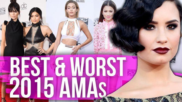 Best & Worst Dressed 2015 AMAs (Dirty Laundry)