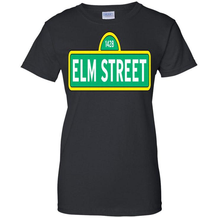 1428 ELM STREET A NIGHTMARE ON ELM STREET MENS G200L Gildan Ladies' 100% Cotton T-Shirt