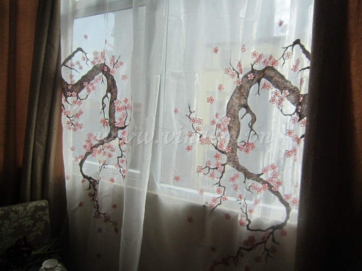 22 best embroidery curtain images on pinterest curtains vietnam vietnam hand embroidery curtain qec 002 httpvinaem ccuart Gallery