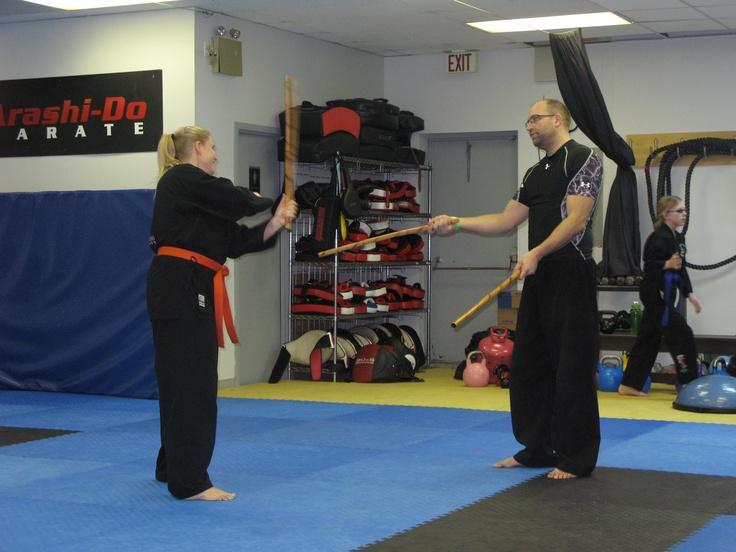 Escrima stick practice, Accelerated Training Program (ATP)