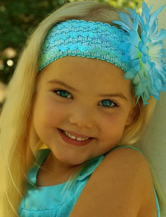 Pretty in Blue. Protect all children from abuse. repinned: www.brindacarey.com