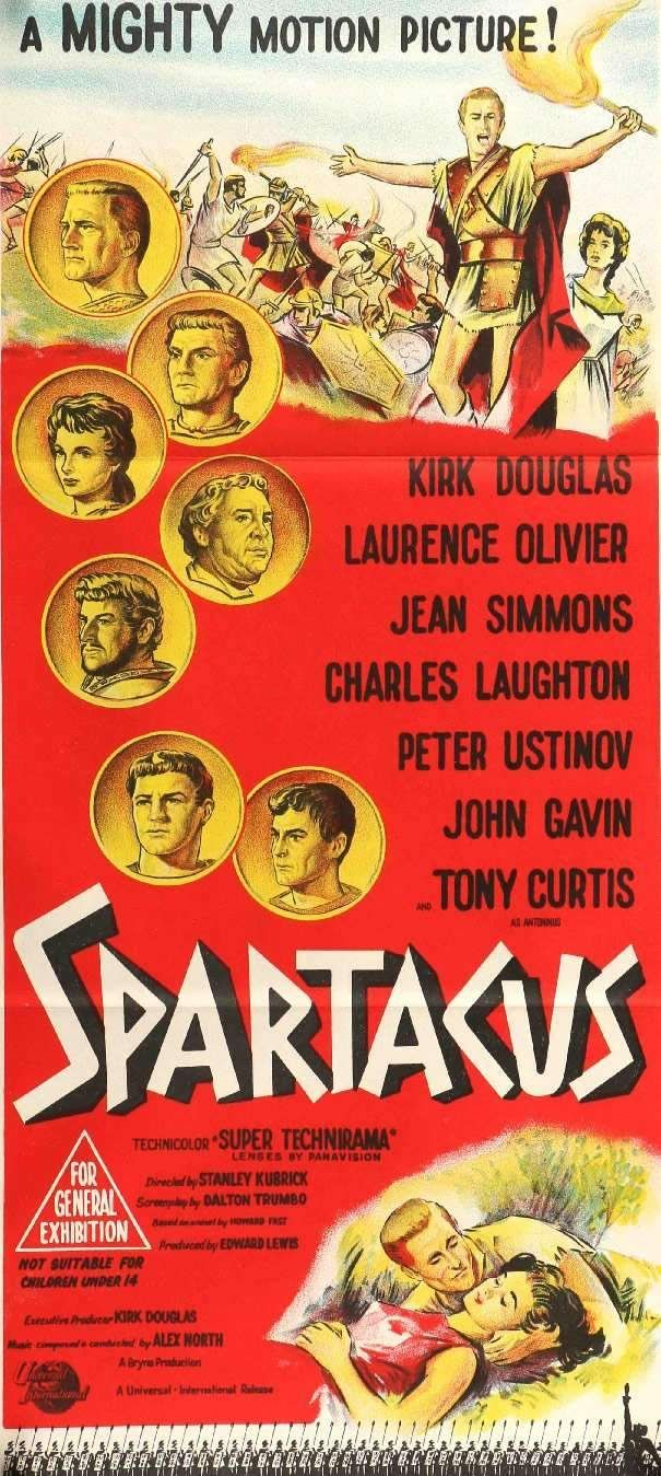 Laurence olivier spartacus quotes - Spartacus 1960