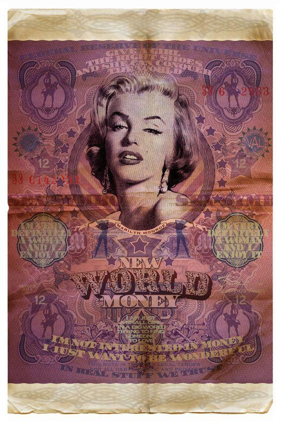 New World Money by Val BOCHKOV 20x30 posters by NewWorldMoney