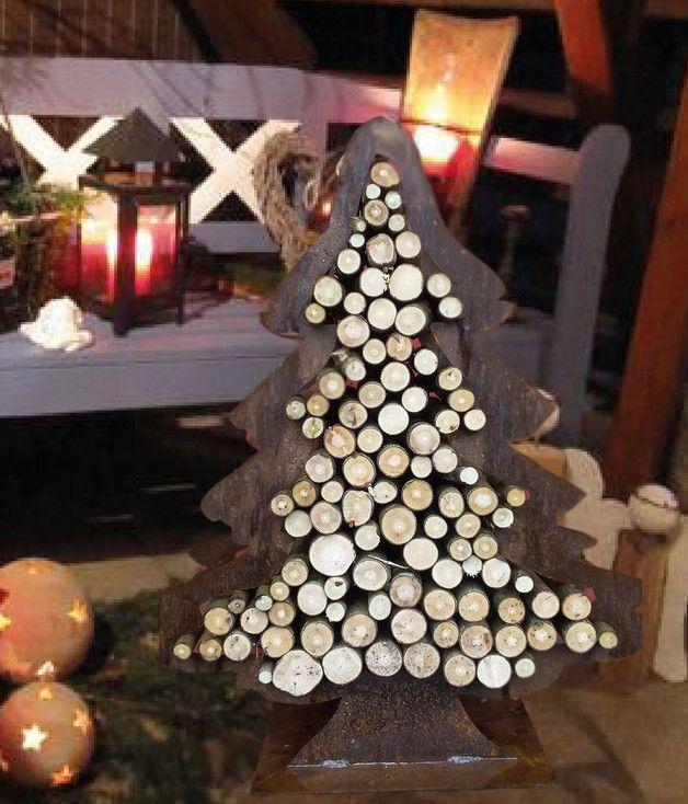 gartendekoration deko tannenbaum christbaum metall stahl. Black Bedroom Furniture Sets. Home Design Ideas