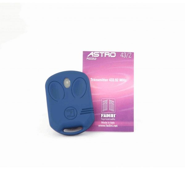 An accessory for your #accesscontrol solution - a two button transmitter by #BPT, the Fadini F/4321.