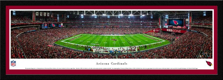 Arizona Cardinals Panoramic Picture - University of Phoenix Stadium Panorama - Select Frame $149.95