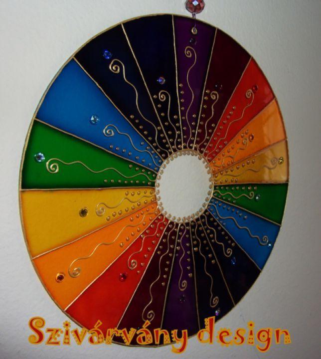 Szivárvány Mandala by http://www.breslo.hu/Orsolya1204/shop