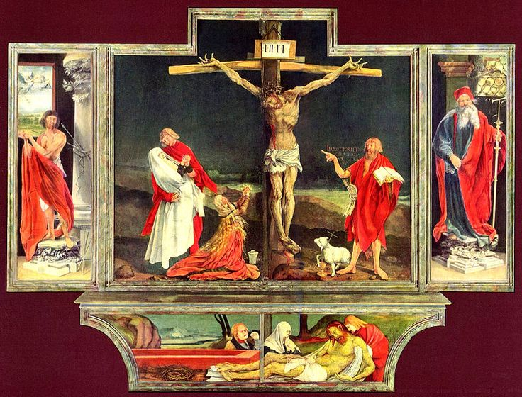 Eisenheim altarpiece by Grunewald