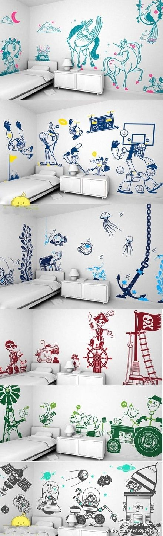 adhesivos habitacion infantil
