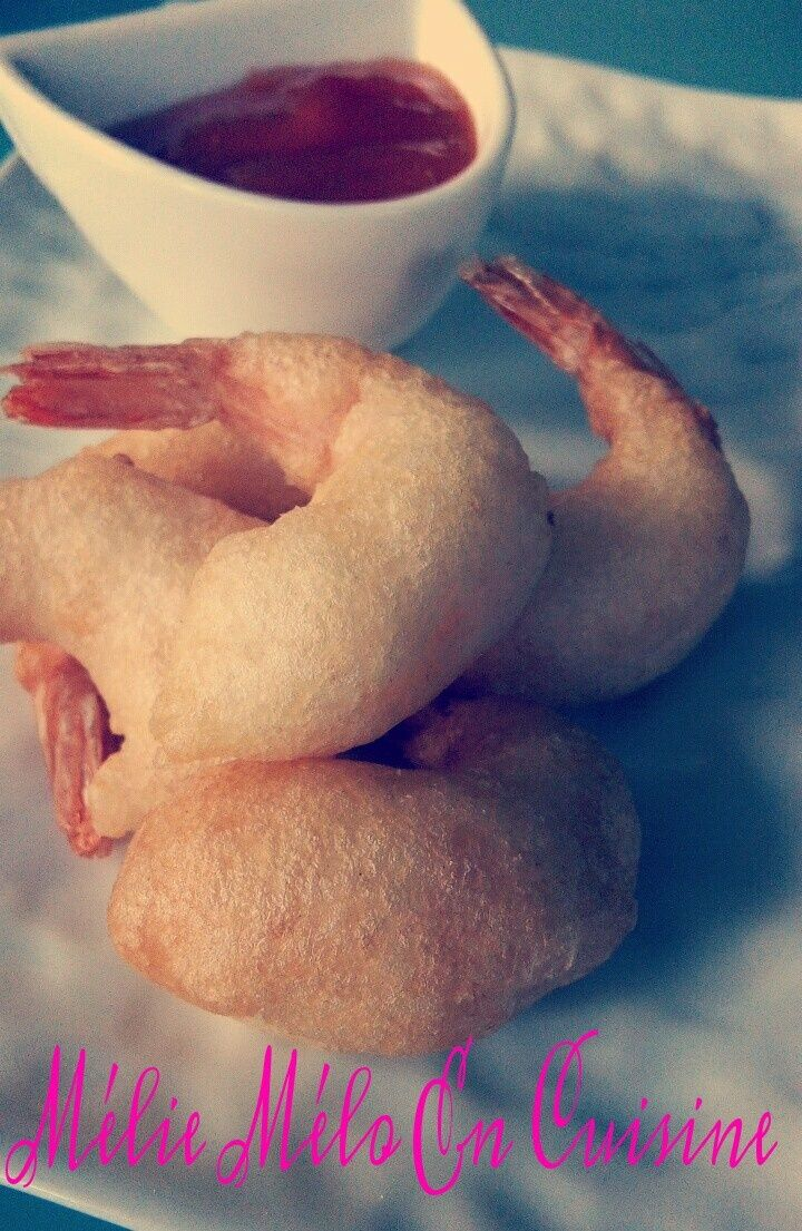 Des beignets de crevettes croustillants et gourmands . Bien dorés et bien dodues ils sont très simples à réaliser et peuvent se préparer en avance et être réchauffer 5 minutes à 200 ° Pour 25 beignets : 25 grosses crevettes crues ( décortiquées en laissant...