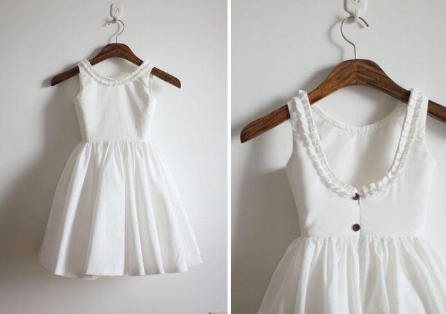 A Dozen Creative Dresses for Your Flower Girl via Brit + Co.