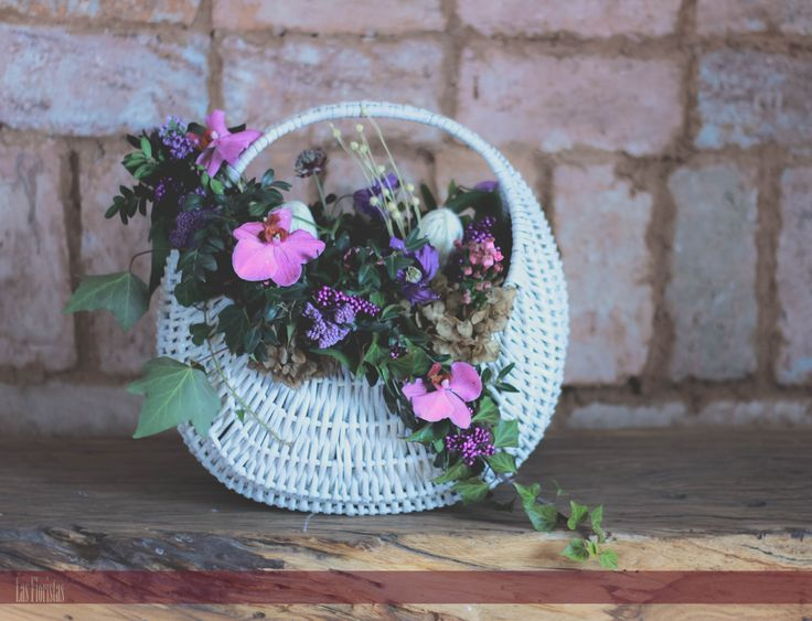 Wedding Floral Basket