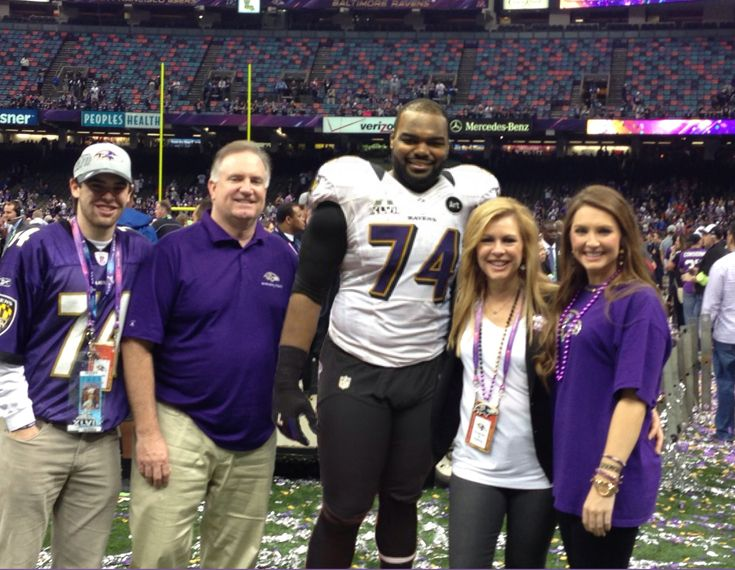 "Millions felt inspired after watching ""The Blind Side,"" a heartwarming movie about family and adoption. Catch up with the Tuohy family as their youngest joins Michael Oher in Baltimore to play basketball for Loyola University Maryland. #PayingitForward"