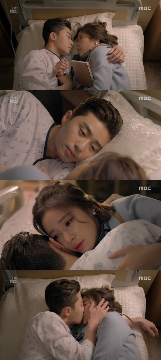 [Spoiler] 'She Was Pretty' Refreshing romance begins with Park Seo-joon and Hwang Jeong-eum's tearful kiss @ HanCinema :: The Korean Movie and Drama Database