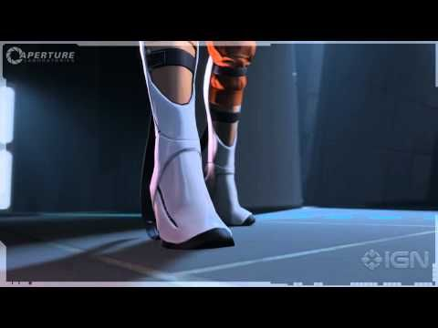 Portal 2 - The long-fall boots that Chell wears. Epic bit of animation