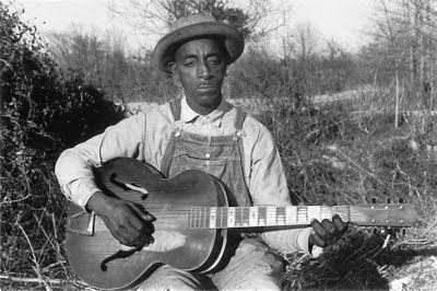 Mississippi Fred McDowell - one of the only blues men I can listen to - treats the voice as an accompaniment tool rather than a lead