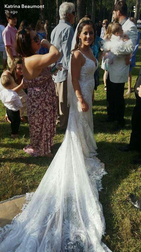Pin by lauren stein on jenelle evans and family pinterest for Chelsea houska wedding dress designer