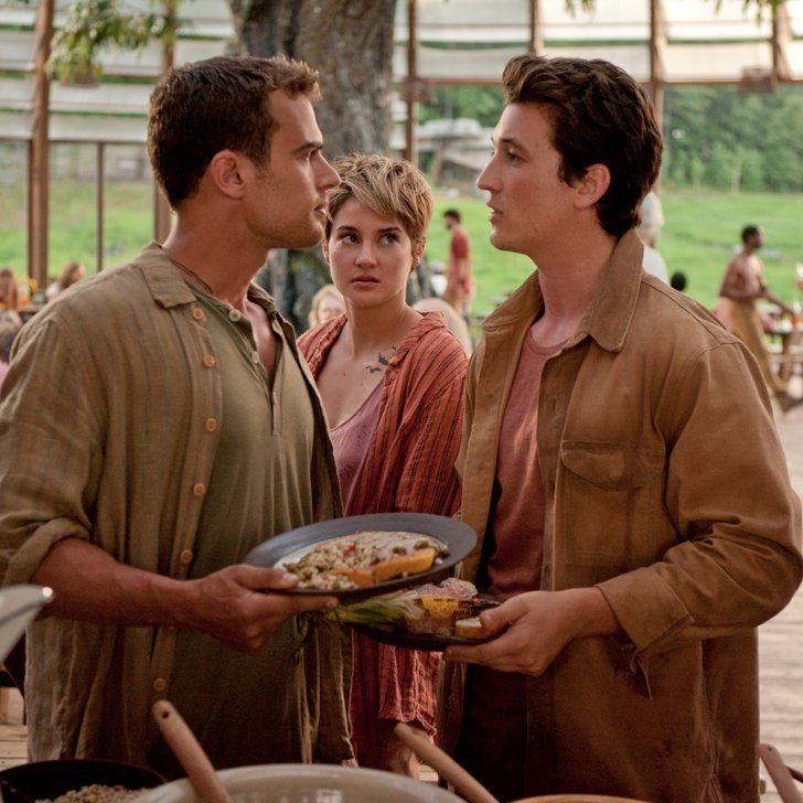 Pin for Later: That Time Shailene Woodley Movie-Dated All Her Insurgent Costars
