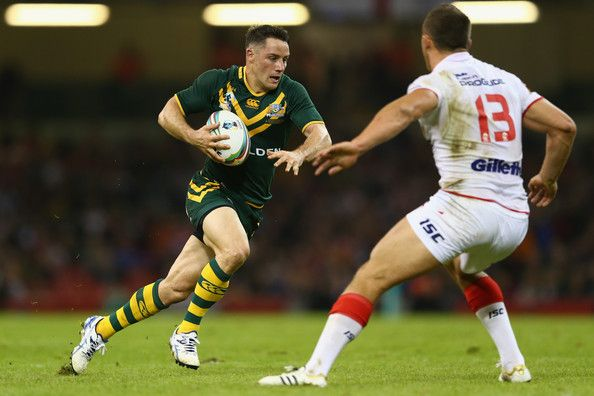 Cooper Cronk - Australia v England - Rugby League World Cup: Group A