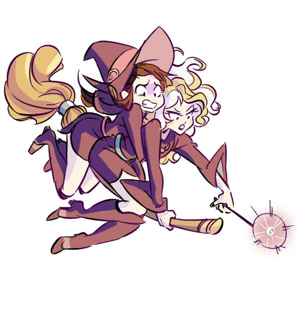 little witch academia by miraongchua