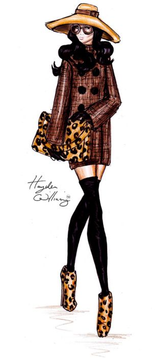 LEOPARD!!! A Stylish Stroll by Hayden Williams