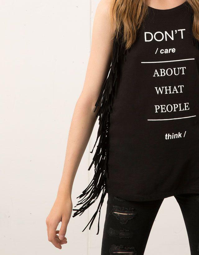 Camisetas - BERSHKA - Chica - Bershka España