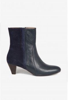 Boots bi-matière marine