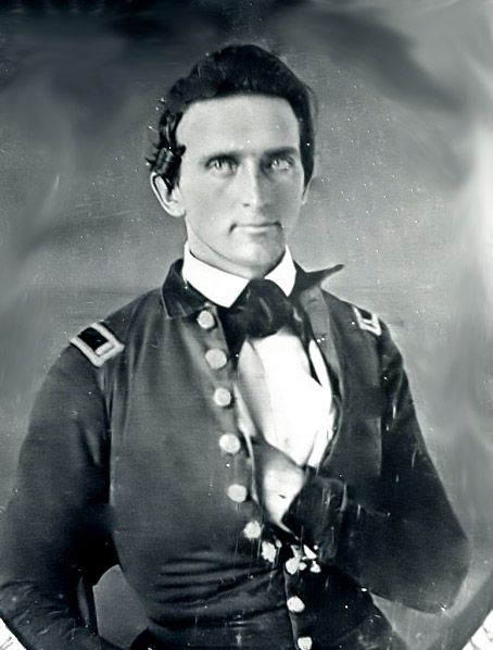 """Stonewall"" Jackson as a Lieutenant in the U.S. Army during the Mexican War, 1847. Who knew he was a hottie?"