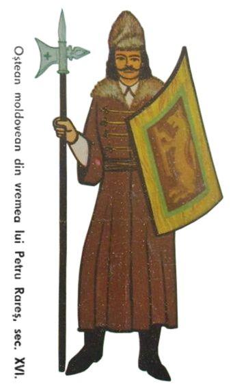 Moldavian soldier, first half of the 16th century