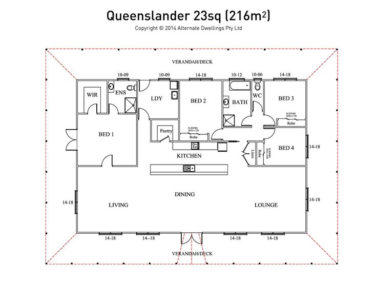 12 best 2017 new home designs by green homes australia for Queenslander floor plans