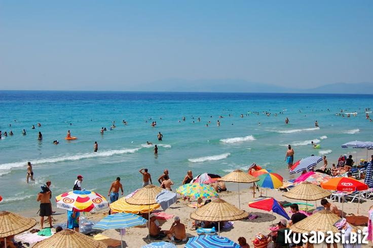 Life's a beach, Kusadasi.