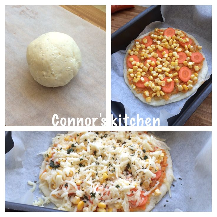 Glutenfree and yeast free pizza